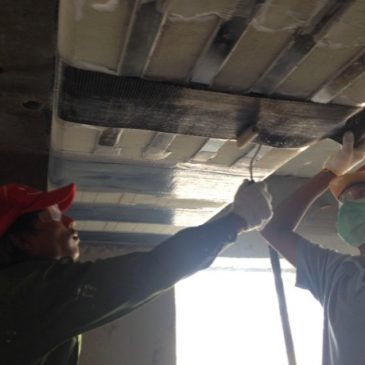 STRUCTURAL STRENGTHENING WRAP AT SUPER CENTER PROJECT