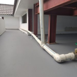 Roof Seal Application on Roof Top Slab